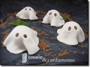 fastasmas dulces para Halloween
