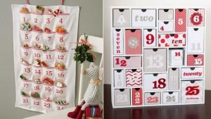 Calendarios de Adviento en zapateros