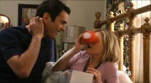 claire mira el visor