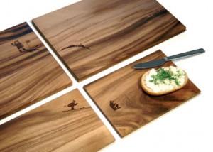 tablas de madera de diseño