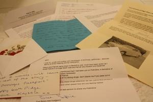 Cartas llenas de recuerdos
