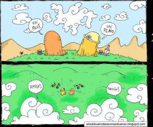 nubes y amigos