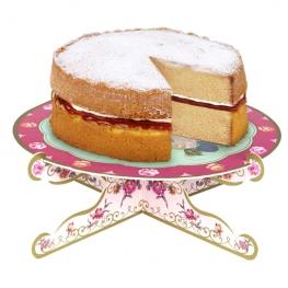 Stand para tartas rosa