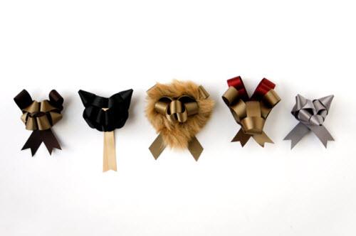 Animales hechos con lazos de Ribbonesia