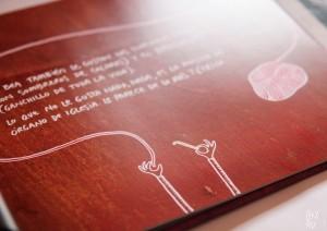 Cuento personalizado, página de manualidades