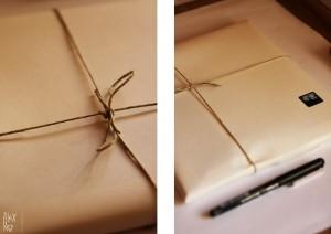 Cuento personalizado envuelto para regalo