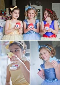 Blancanieves con otras princesas