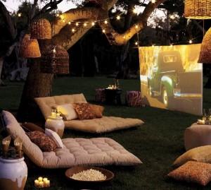 Cine de verano al aire libre